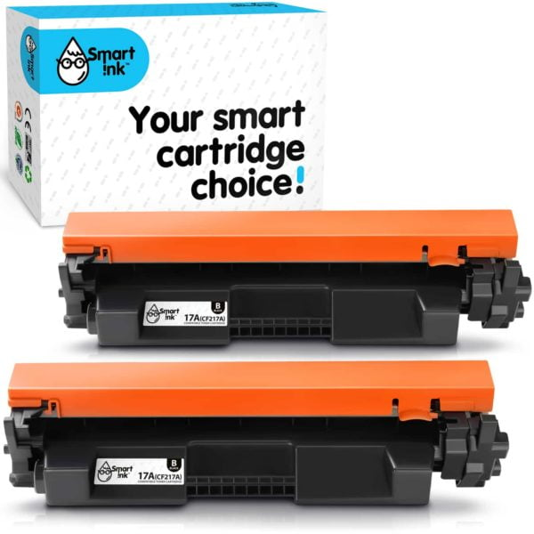 HP17A. Smart Ink Toner Cartridge Replacement for HP 17A CF217A (2 pack), Compatible
